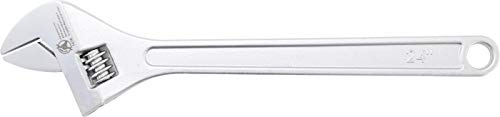 Kraftmann 1476 | Rollgabelschlüssel | 600 mm | 62 mm | verchromt, poliert | Einmaulschlüssel