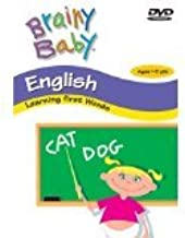 Brainy Baby English Learning First Words Classic Edition