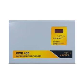 V-Guard VWR 400 Voltage Stabilizer (Grey)
