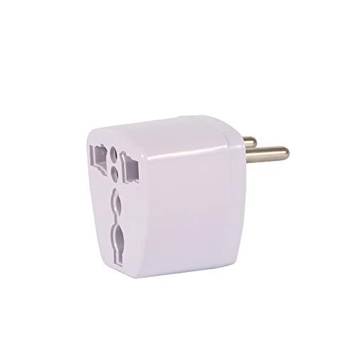RoxTop Universal-AU Großbritannien US EU-Wechselstrom-Stecker-Adapter-Adapter-Konverter Outlet Home Reise Wand Ladegerät AC-Weiß