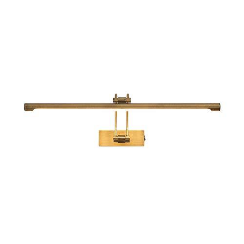 Lucande LED Wandleuchte, Wandlampe Innen \'Dimitrij\' (Landhaus, Vintage, Rustikal) in Bronze aus Metall u.a. für Wohnzimmer & Esszimmer (A++, inkl. Leuchtmittel) - Bilderleuchte, Wandstrahler