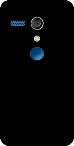 Shengshou Pattern Design Mobile Back Cover for Motorola Moto G1 1st Gen - Black