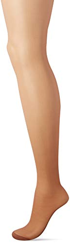 Hanes Silk Reflections Women's Control Top Reinforced Toe Pantyhose 6-Pack, Barely There, CD