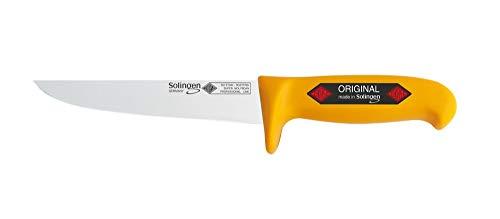 Solingen EIKASO - Cuchillo de trinchar profesional (21 cm, muy resistente, hoja afilada)