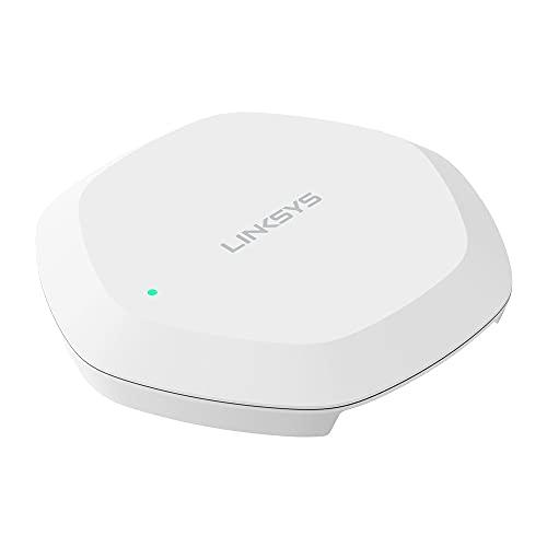 Linksys LAPAC1300C - Punto de Acceso inalámbrico WiFi 5 MU-MIMO (AC1300, Punto de Acceso para Interiores, Doble Banda) Blanco