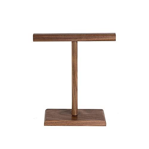 CZYNB Ports - Soporte para auriculares de escritorio con doble soporte para escritorio de madera maciza para juegos de videojuegos