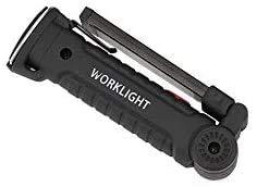 Linterna LED de bolsillo de trabajo con imán Cob 145 g, 360 ° rotación, color blanco