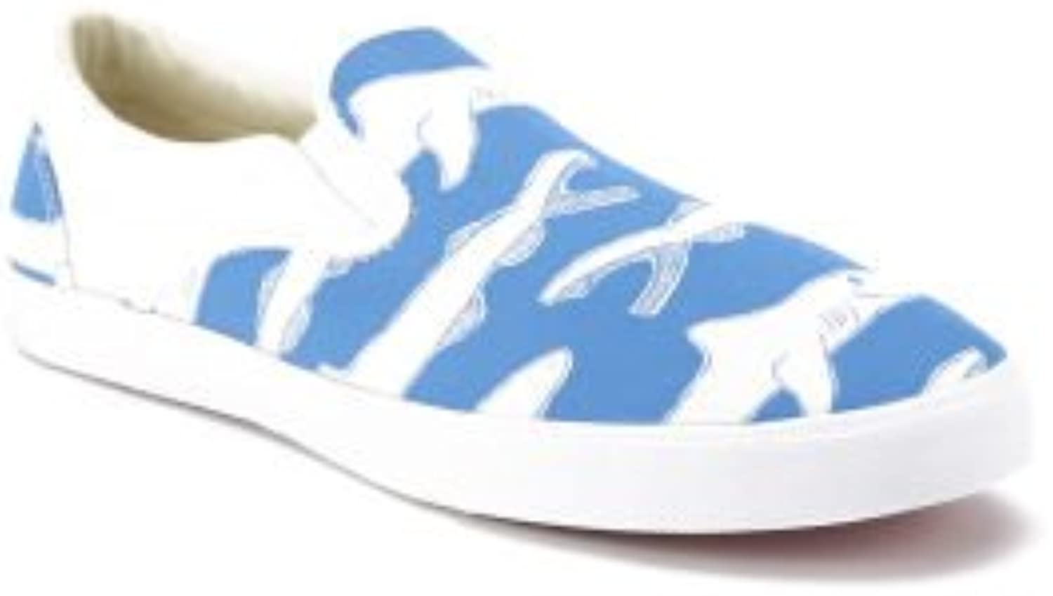 Bucketfeet Simon The Shark Canvas Kids 2 bluee White