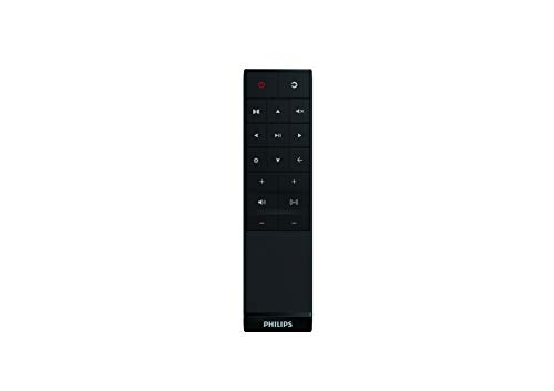 Philips B8405/10 Soundbar mit Subwoofer kabellos (2.1 Kanäle, Bluetooth, 240 W, Dolby Atmos, HDMI eARC, DTS Play-Fi kompatibel, Verbindung Sprachassistenten, Flaches Profil) Schwarz - 2020/2021 Modell