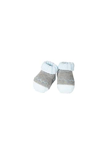 Ivory Babyschuhe 42210, Grau 0-3 Monate