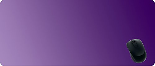 BCQL 28x12inch Mouse Pad,Gradient Purple