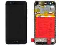 HUAWEI Front Housing with Battery Warsaw-L21A,F,Black, 02351ESD (Warsaw-L21A,F,Black, P10 Lite(was))
