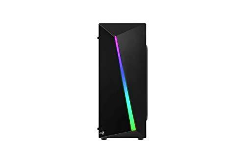 Aerocool SHARD, caja de PC, ATX, panel acrílico, RGB 13 mod
