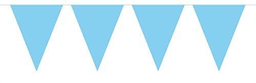 Folat Guirlande 10 Metre XL – Bleu Clair