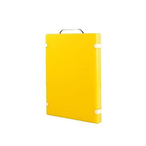 Heigmz AB Tabla de cortar grande con patas antideslizantes para cocina, mango de fácil agarre, apto para lavavajillas, sin BPA
