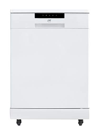 SD-6513W: Energy Star 24″ Portable Stainless Steel Dishwasher – White