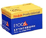 Kodak Ektachrome E100 S 135 Film (à 36 Bilder) 5er Pack