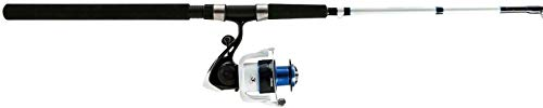 Okuma TXP-1002-80 Tundra Pro Spinning Combo, 80, 10' Length 2pc, 20-40 lb Line Rate, Medium/Heavy Power, Ambidextrous