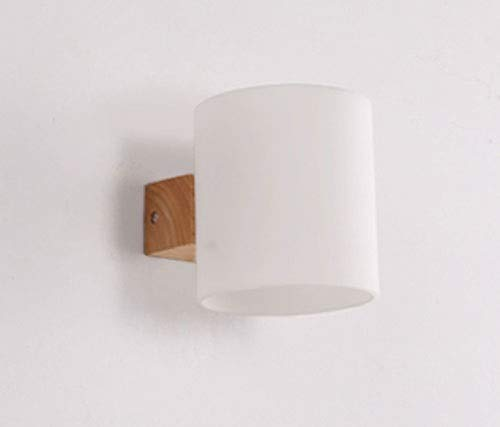 LHTTCZZB. Lampada da comodino Lampada da parete Semplice Creato Camera da letto Stile europeo Stati Uniti Lampada da parete Soggiorno Scale Corridoio Corridoio Luce Candeliere Interruttore Illuminazi