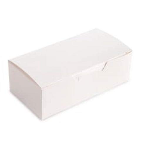 Darice Cake Box White 5.5 x 1.75 inches 24 Pieces (6-Pack) 1404-27