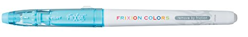 Pilot 4144010 Fasermaler FriXion Colors, löschbar, hellblau