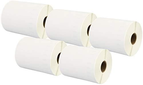 Printing Saver 5X S0904980 104 x 159 mm Extra große Versandetiketten (220 Stück/Rolle) kompatibel für Dymo LabelWriter 4XL Etikettendrucker