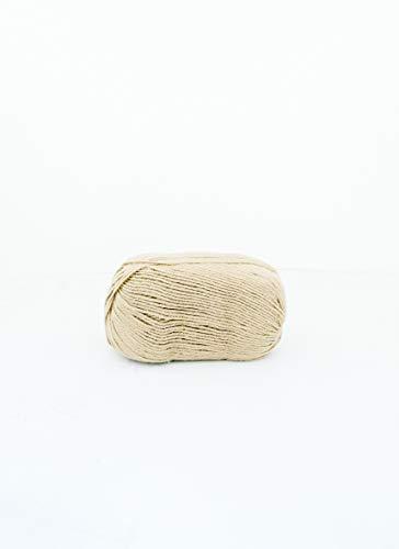 SewCrafte 100% lana para tejer, juego de 5, celestial suave, perfecto para tejer, ganchillo, manta de bebé, muebles, ropa de abrigo, ropa activa, cinco bolas, 5 ovillos de lana, color gris tiza