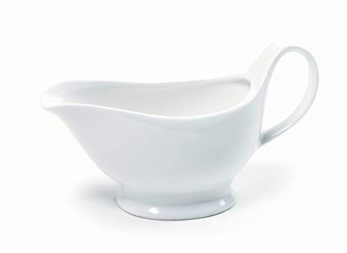 Norpro Porcelain Gravy Boat Mode 16 Oz 1 Gravy Boat White