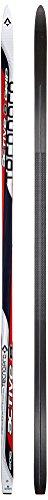 TECNOPRO Erwachsene Langlauf-Ski Active 8 G2+ Langlaufski, Weiss/Rot/Schwarz, 177