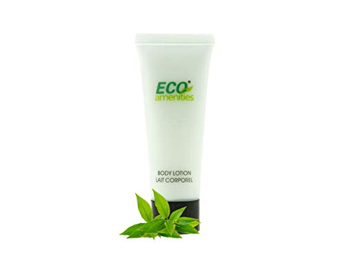 ECO AMENITIES Transparent Tube Flip Cap Individually Wrapped 30ml Body Lotion 72 Tubes per Case