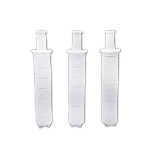 Filtro de cabezal de ducha doble, filtros de sedimentos, fácil de instalar (filtro de cuerpo)