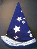 cappello merlino blu,giochi di prestigio,trucchi magia