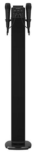 Sunstech STBTK150 Torre de Sonido con Pantalla LED, Altavoces Estéreo Bluetooth, 40W, Negro