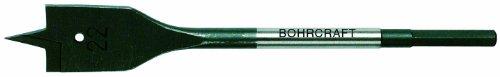 Bohrcraft 34100703500 Platte freesboor met 2 snijkanten, 35 mm 6-kant schacht in SB-zak, 1 stuk