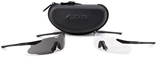 ESS Eyewear Ice 2X Eyeshield Kit, Black