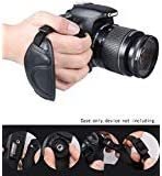 new arrival WGear high quality Double Secured DualStrap Padded Wrist and Grip Strap for DSLR Cameras - Prevents Drop and stabilizes Image popular capturing outlet sale