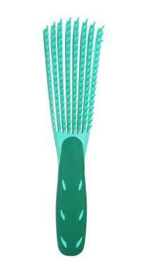 Hair Brush Detangler Multi-function Detangling Brush Hair Detangler Hair Styling Tool, Green