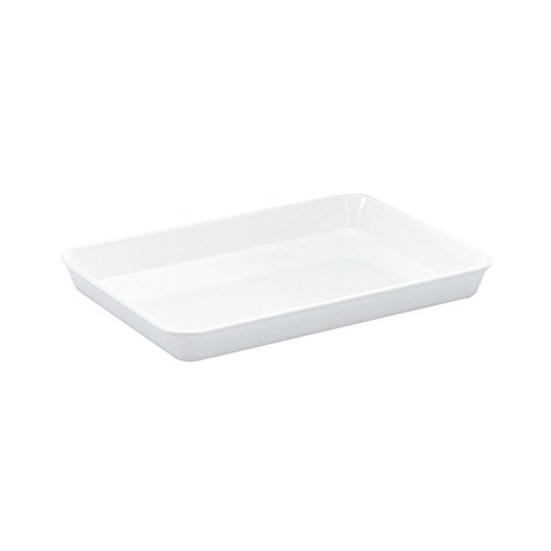 WACA® 1404-710 Auslageschale Präsentationsschale 350x250x40mm weiß