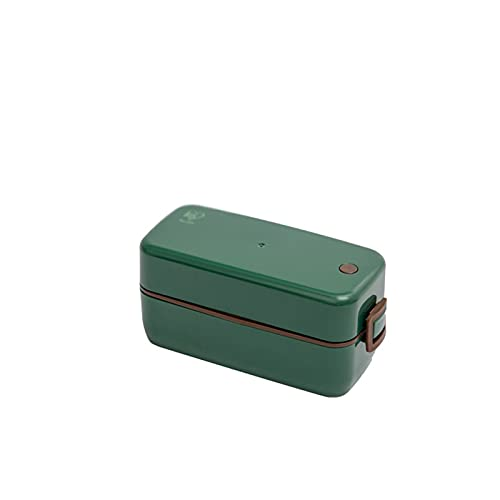 caja de Bento Caja de almuerzo Bento, caja de almuerzo hermética con compartimentos y contenedores de preparación de comida ecológica a prueba de ecografías reutilizables para niños adultos