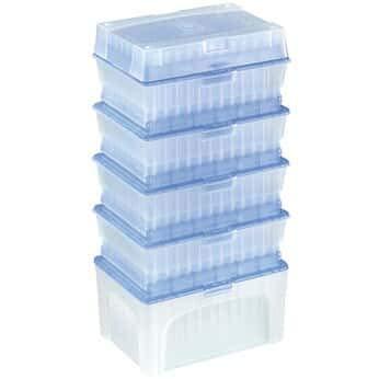 BrandTech 732734 Brand Bio-Cert Pipette Filter Tips, 5-1000 uL, Sterile; 10 Boxes, 96/ea