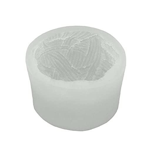 vvd Molde De Silicona Craft Aromaterapia Molde La Bola del Hilado Molde De La Vela Estéreo 3D para Vela De Aromatherapy Haciendo Silicona Moldes Kit