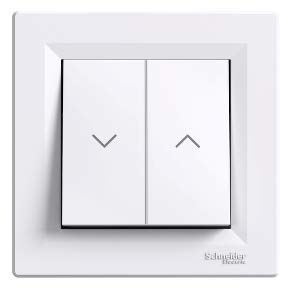 Schneider-Interruptor para persianas enrollables blanco-asfora- eph1300521