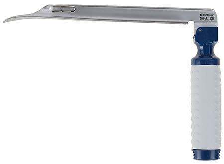 Curaview Led Laryngoscope Blade & Handle, Disposable, Mac 4 1/Ea