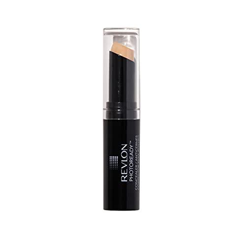 Revlon PhotoReady Concealer Stick, Creamy Medium Coverage Color Correcting Face Makeup, Light (002), 0.11 oz
