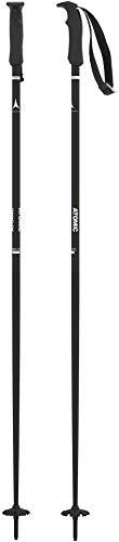 Atomic, 1 Paire de Bâtons de Ski All-Mountain, Pour Femmes, 120 cm, Aluminium, Cloud W, Noir, AJ5005628120