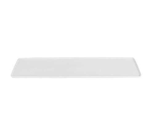 Visiodirect Lot de 3 Plateaux en Porcelaine GN 2/4-53 X 32 cm