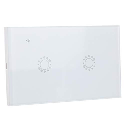 Interruptor táctil inteligente, duradero, control remoto, materiales ABS, interruptor inteligente Wifi para hogares, oficinas, restaurantes