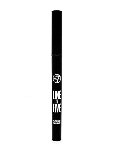 W7 Felt pen, wasserfester eyeliner Preise und Erfahrungen