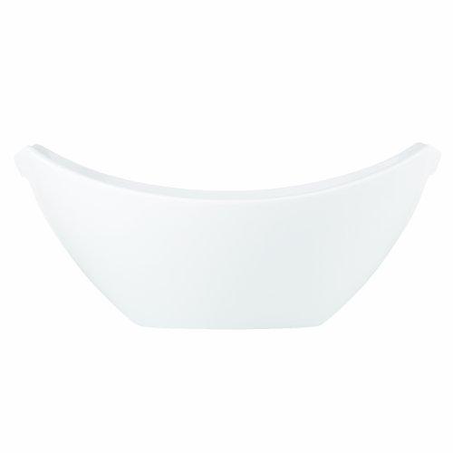 Classic Fjord Porcelain 16' Table Runner Serving Bowl White