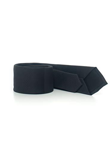 Boss - Corbata negra de seda para hombre Negro Talla única